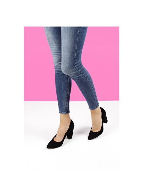 G.Ö.N. Topuklu Ayakkabı Siyah